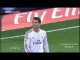 Роналду спас чужие ворота )) Смешной и обидный момент с роналду и бэйлом,со всеми бывает (Реал Мадрид Осасуна 2-0)