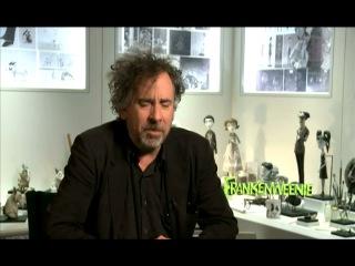 Тим Бёртон дал интервью корреспонденту программы «Индустрия кино»