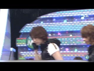 2011.08.05 [Music Station ] KAT-TUN - RUN FOR YOU Talk