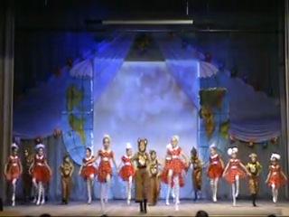 Детская группа Народного коллектива эстрадно-спортивного танца