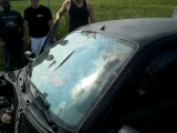 SP AUDIO разбило стекло у CLIO в щепки! Ахуенный бас!