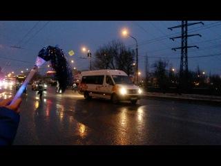 Эстафета олимпийского огня. г.Липецк 13.01.2014 г.