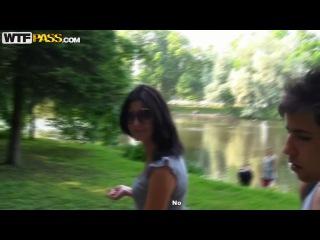 Myra – Peek Girls First Real Outdoor Sex