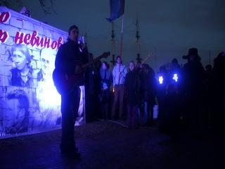 ПЕСНИ 21.02.2014 В СПб, НА МИТИНГЕ ЗА СВОБОДУ УЗНИКАМ 6 МАЯ