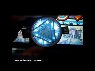 Флешка Железный Человек 3 АРК Реактор Iron Man 3 ARC reactor