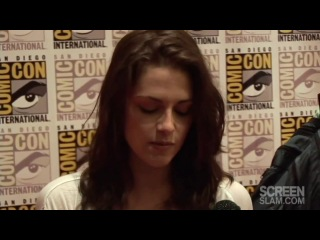 Breaking Dawn Part 1 at Comic Con 2011 - Cast on ScreenSlam Interview