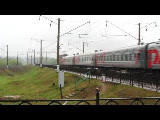 БЧ / РЖД ЧС4Т-602 с поездом №047А Санкт-Петербург-Львов