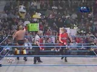 WCW NITRO 11.12.2000 - Титаны Рестлинга на канале ТНТ / Николай Фоменко