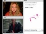 Эштон Катчер и Деми Мур в видеочате с русской девушкой :D