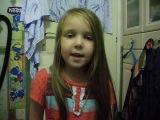 Жанара (ей 5 лет) и её папа Баязит. Песня о Кунг-фу Панде!
