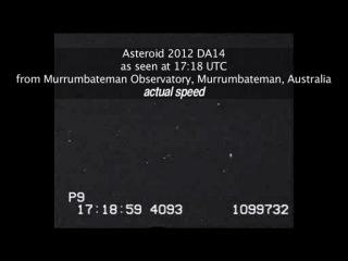 Asteroid 2012 DA14 NASA