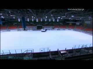 Discovery «Как делают спортинвентарь (6). Профессиональные хоккейные клюшки; Хоккейные перчатки; Ледовые площадки; Коньки с подогревом» (Документальный; 2012)