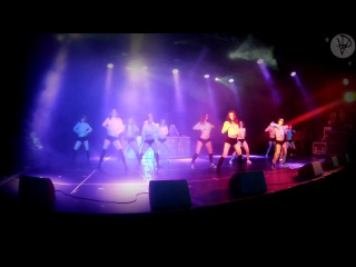 Twerking dance by Shoshina Katerina's team at Workout Battle 2014