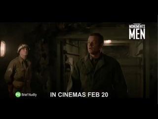 Охотники за сокровищами / The Monuments Men (2014) (Сингапурский ТВ-ролик)