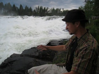 Вадище-бурлище!)) (Север Швеции, водопад Storforsen, 15.08.2012г. )