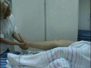 Классический массаж - массаж голеностопного сустава