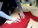 коррекция выкроенных брюк после первой примерки вариант 3