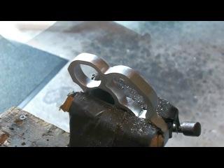 Сделать КАСТЕТ самому (сталь)