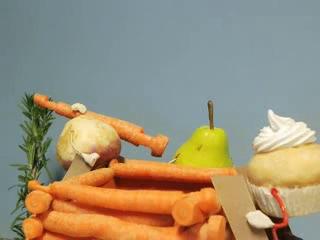 Очень милый мультфильм о правильном питании