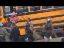 Видео со съёмок фильма «Американская чушь»
