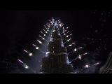 Новогодний фейерверк в Дубае (2014)