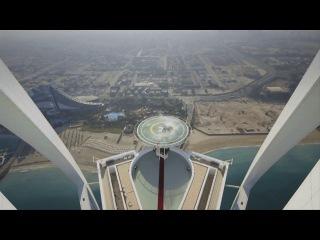 Red Bull celebrate F1 title on Burj Al Arab