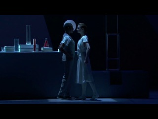 Эйнштейн на берегу моря / Einstein on the Beach (Роберт Уилсон; опера Филипа Гласса, дирижёр Майкл Рейзман) / Théâtre du Châtelet, 2014. Акт II, III