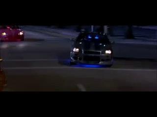 гонка ниссан скайлайн мазда RX-7 таёта супра и хонда S-2000
