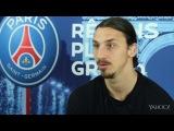 Zlatan Ibrahimovic  Jadore etre un leader... Vous naissez leader ou pas !  [VIDEO] - Yahoo Sport France