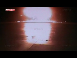 Камеры наблюдения зафиксировали на видео крушение