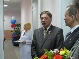 Открытие новой поликлиники на Петерговском 3 корпус 5 Никольским.