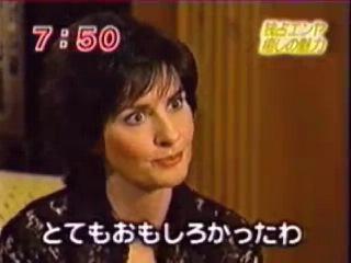 Enya - Interview at Mezamashi TV (2001) Japan