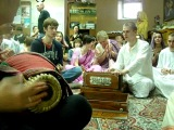 2012 10 21 маха-киртан с участием Е.С.Бхактиведанта Садху Свами махараджа