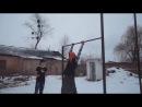 бабка турникмен (ржачное видео)