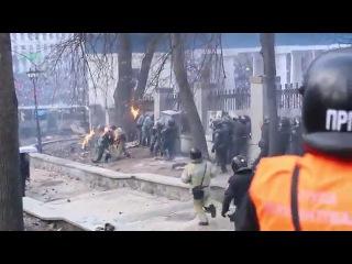 Противостояние на Грушевского Беркут 20012014