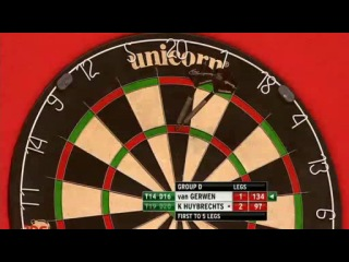 Michael van Gerwen vs Kim Huybrechts (Grand Slam of Darts 2013 / Group D)