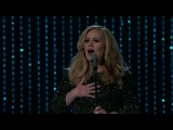 Adele - Skyfall @ Live Oscar 2013