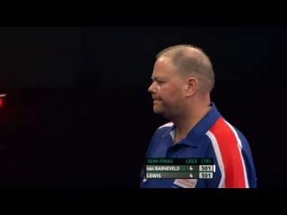 Raymond van Barneveld vs Adrian Lewis (PDC Coral Masters 2013 / Semi Final)