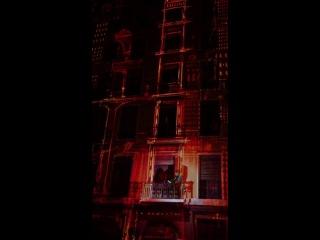 Офигенное видео с праздника света в Лионе.