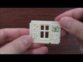 Mini Plastic Model Kit① シルバニアファミリー ミニシリーズ①