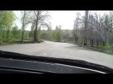 Видео из салона авто. Несколько кругов!