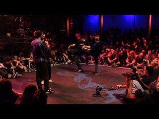 Juste Debout Amsterdam 2014 - 1/2 Final - Maximus & Nastya vs Dimention & Paradox