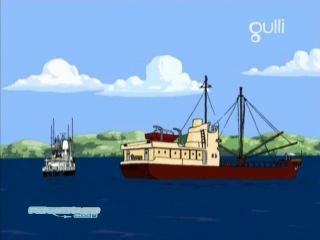 Морские истории команды Кусто - 23 серия