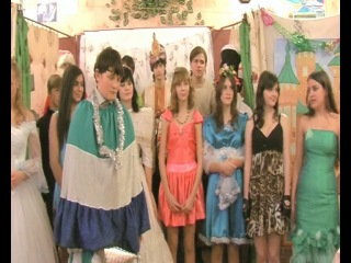 9 класс(2010) Новогодняя сказка