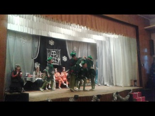 Танец Ёлочек из Новогоднего Колобка