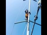 Барзиков Прыжок с мачты