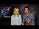 The Amazing Spiderman interview with Andrew Garfield and Emma Stone