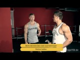 Steve Cook's UNDER THE WINGS with Felix Valentino - Shoulder Workout