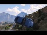 ГТА 5 - Лучшие удачные трюки! EPIC GTA 5 STUNT COMPILATION (multisa)
