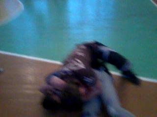 Учебный спаринг в школе русского боя ВАРЯГ (русский рукопашный бой)